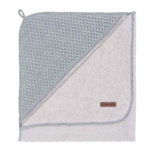 Bathcape Sun grey/silver-grey - 75x85