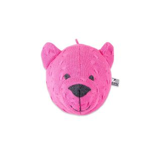 Bear head Cable fuchsia