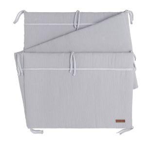 Bed bumper Breeze grey
