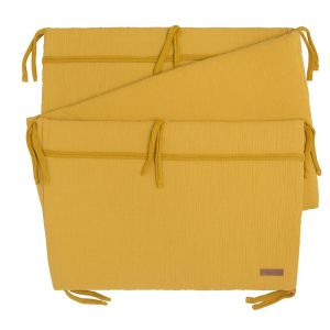Bed bumper Breeze ochre