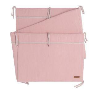 Bed bumper Breeze old pink