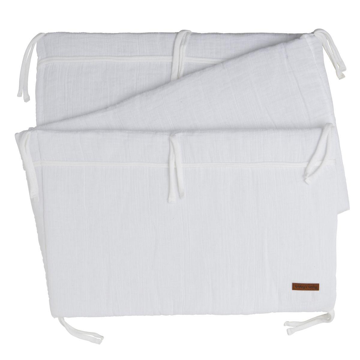bed bumper breeze white