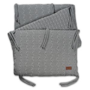 Bed bumper Cable grey