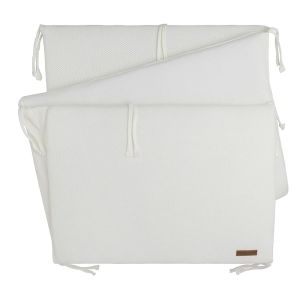 Bed bumper Classic woolwhite