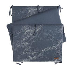 Bed bumper Marble granit/grey