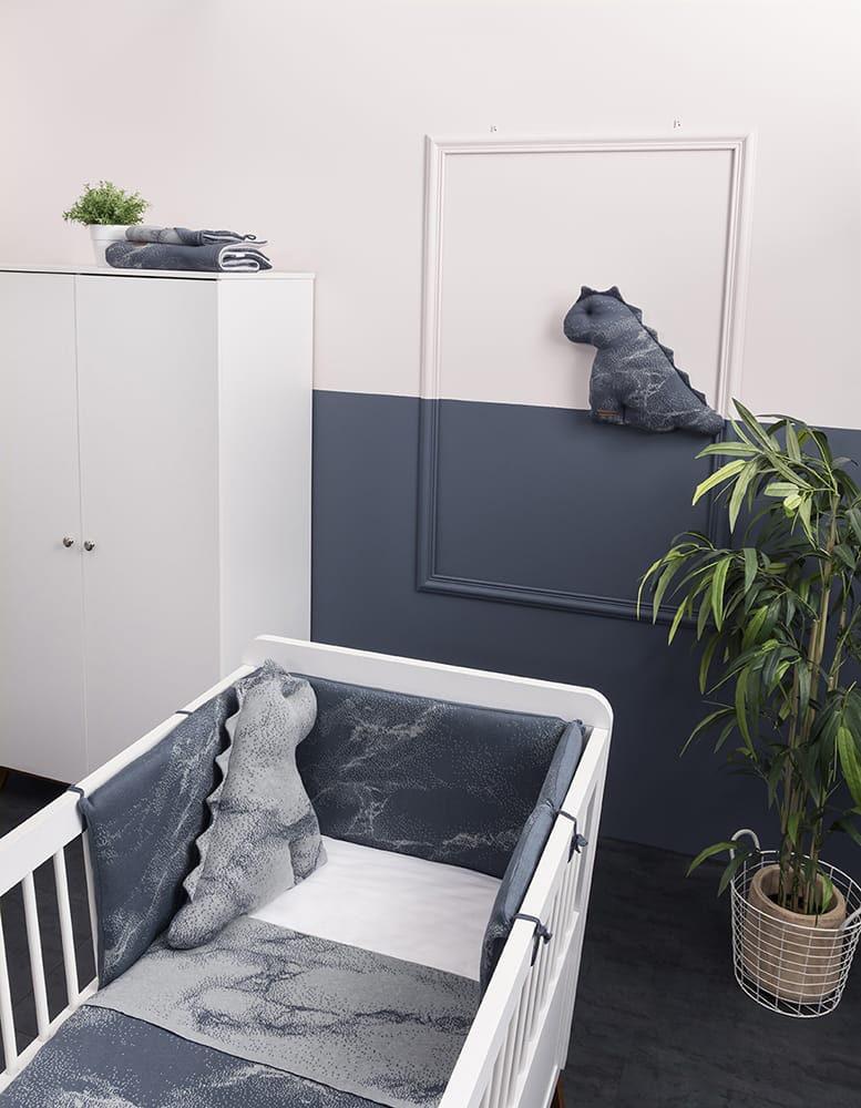 bed bumper marble khakiolive