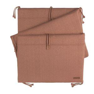 Bed bumper Sparkle copper-honey melee