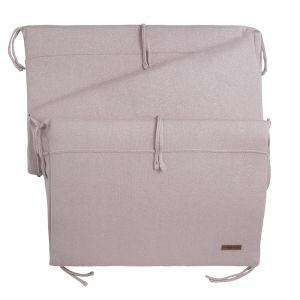 Bed bumper Sparkle silver-pink melee