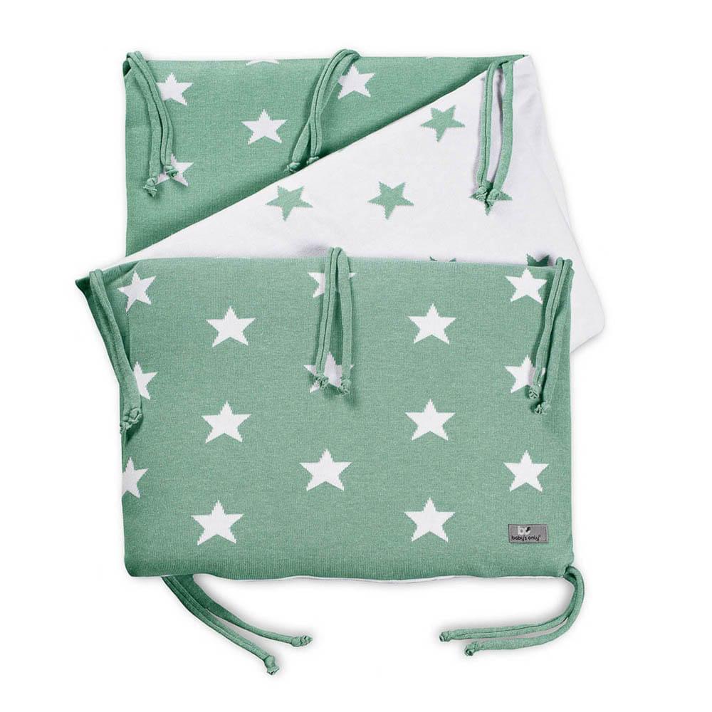 bed bumper star mintwhite