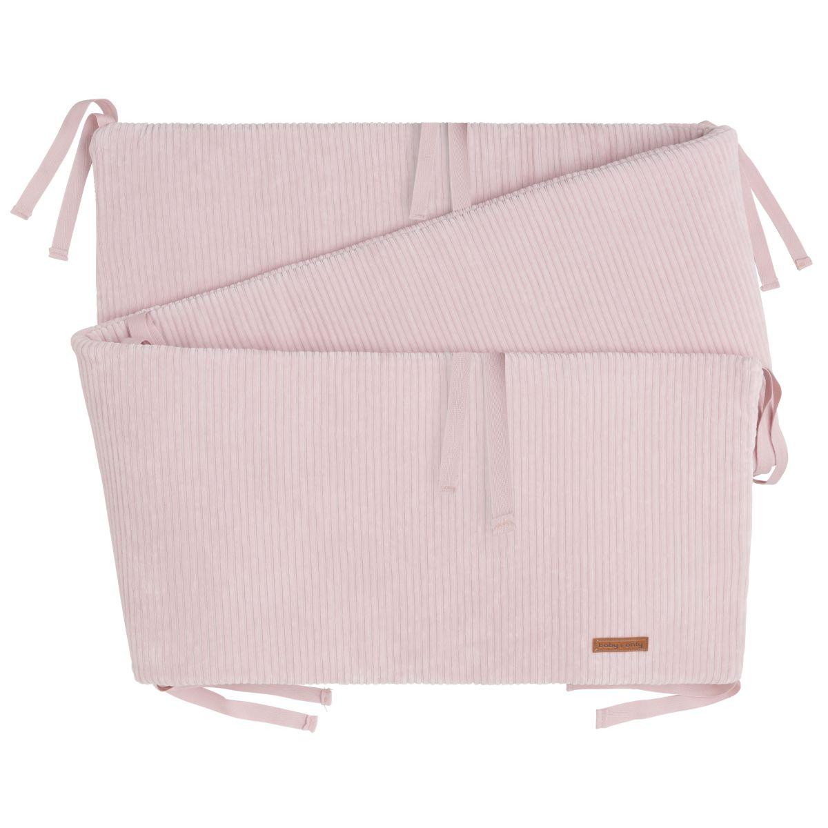 bedplaypen bumper sense old pink