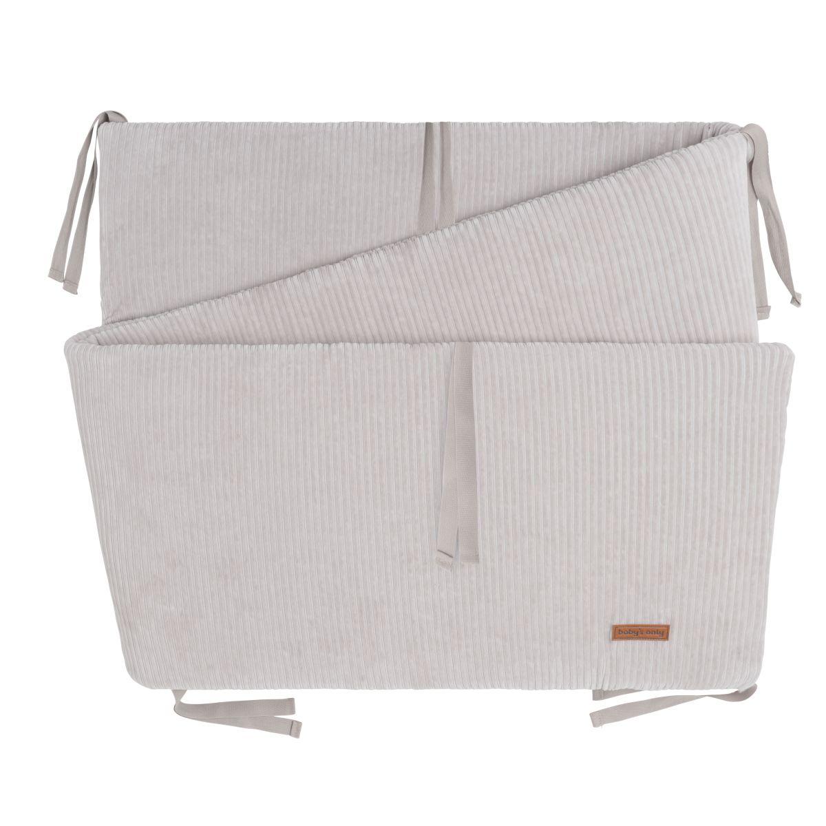 bedplaypen bumper sense pebble grey