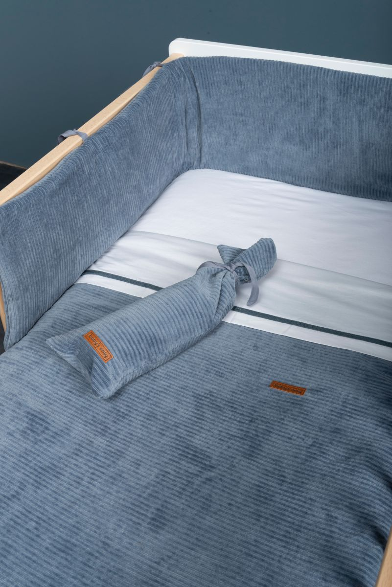 bedplaypen bumper sense pebble grey