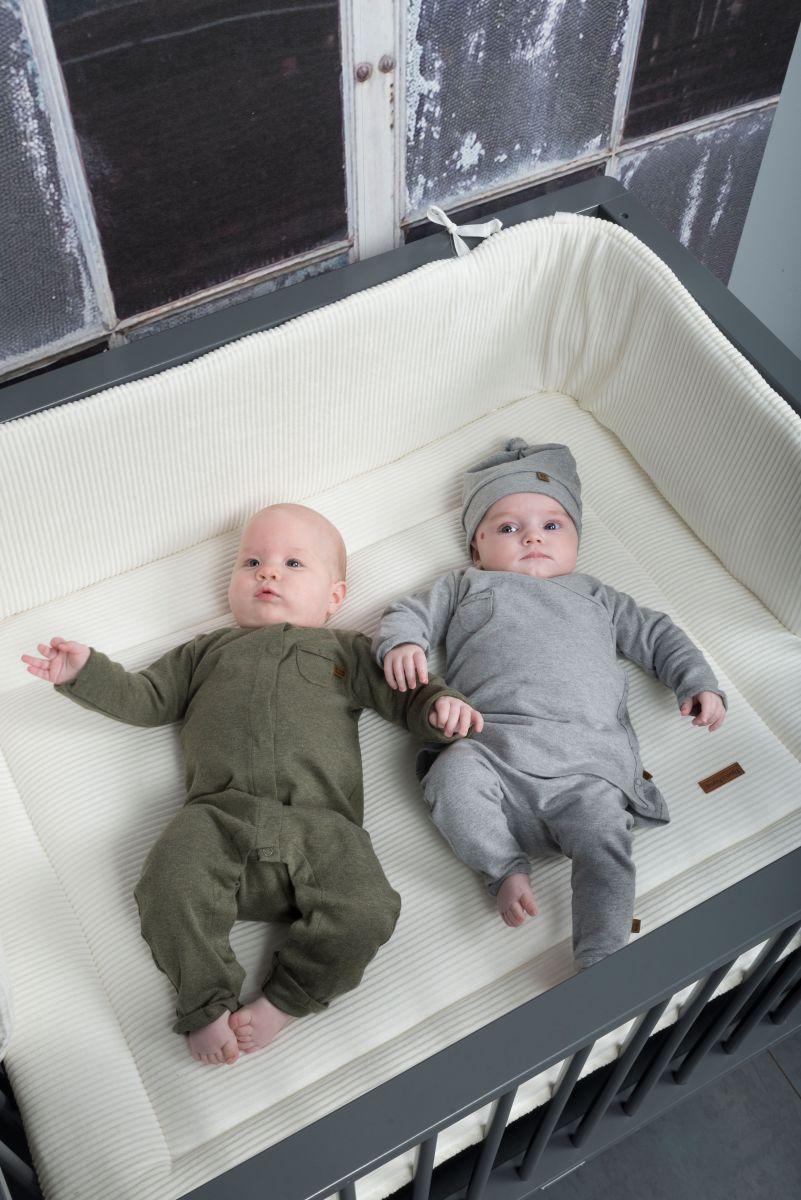 bedplaypen bumper sense sea green