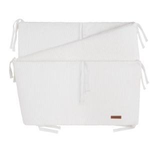 Bed/playpen bumper Sense white