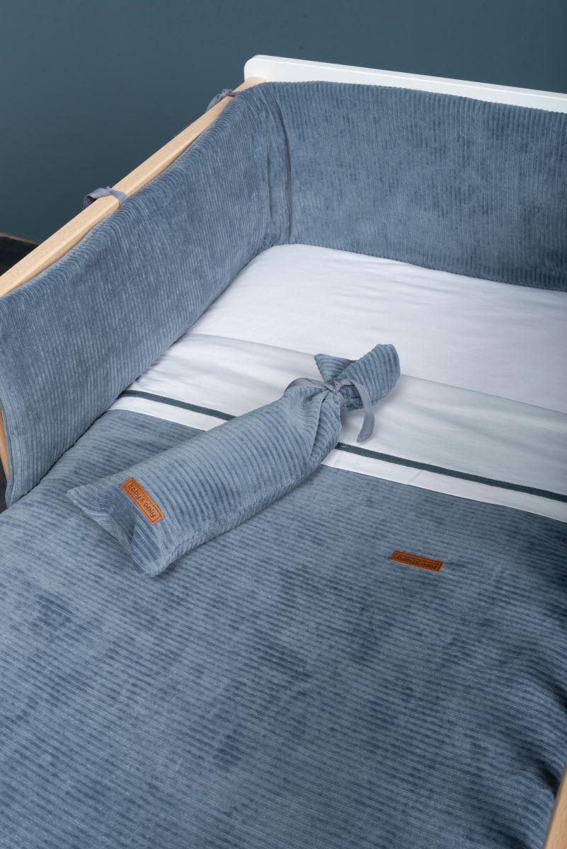 bedplaypen bumper sense white