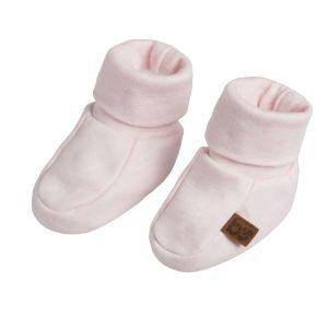Booties Melange classic pink - 0-3 months