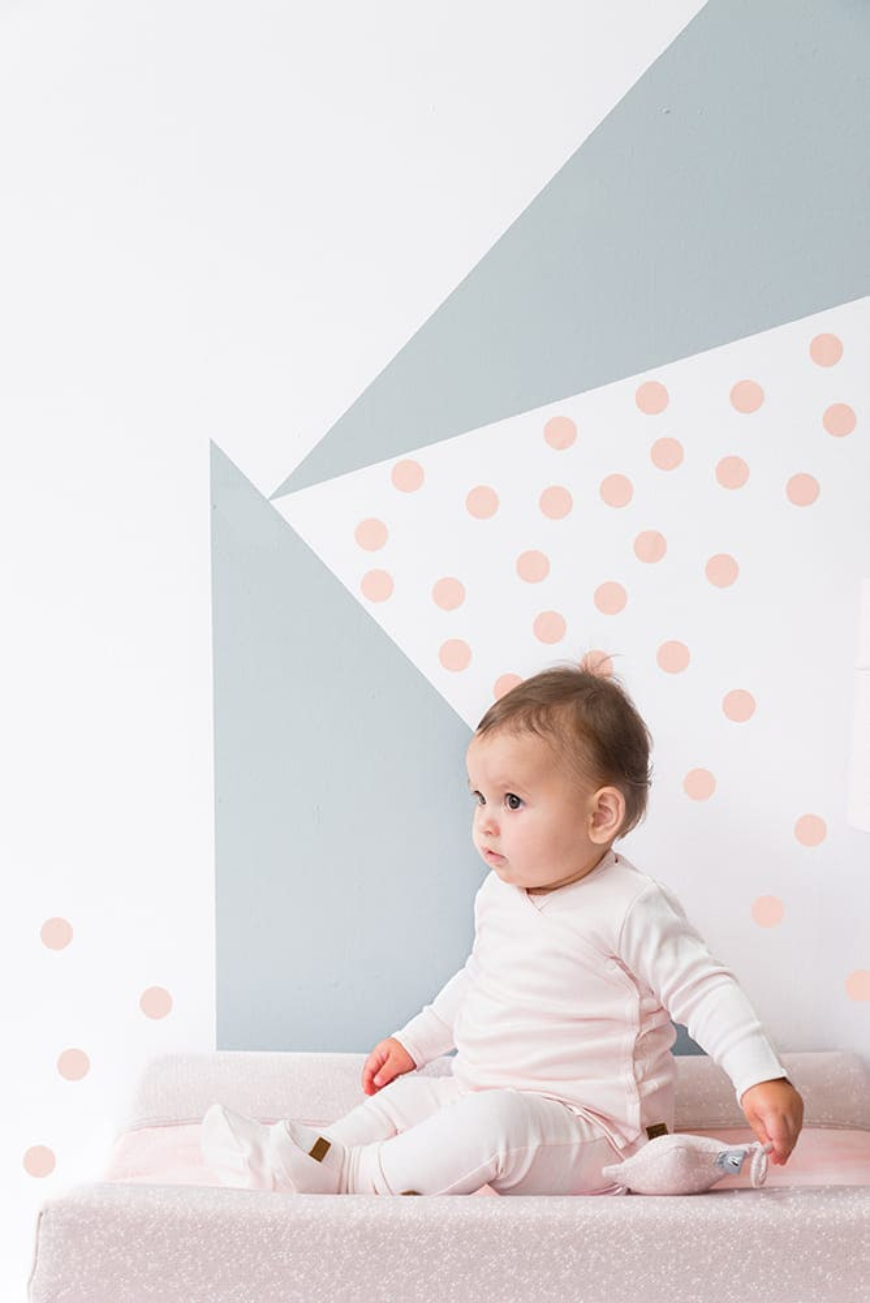 booties melange classic pink 03 months