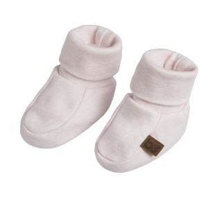 Booties Melange classic pink - 3-6 months