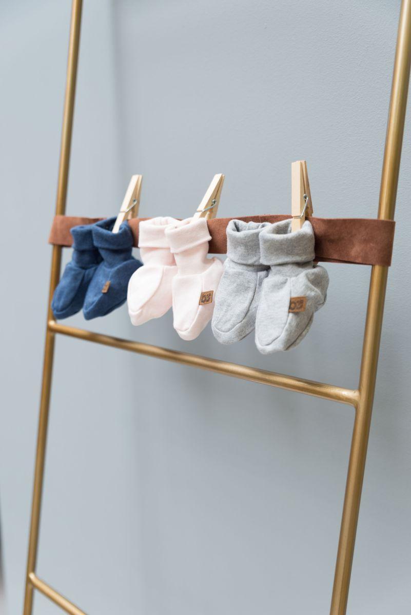 booties melange classic pink 36 months