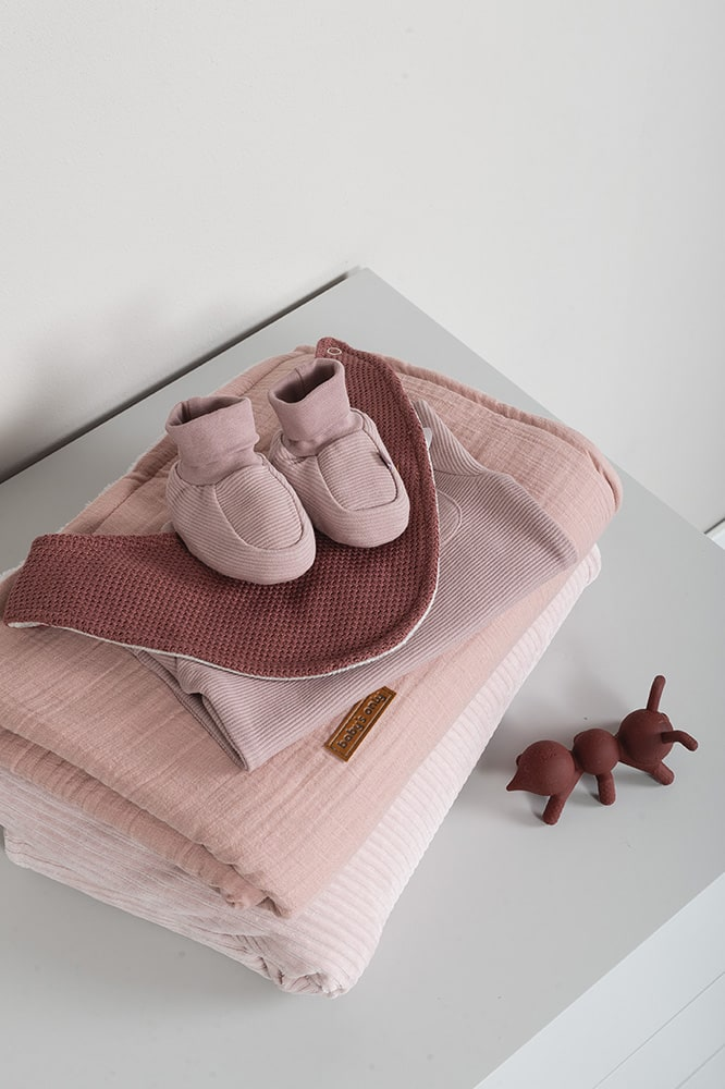 booties pure old pink 36 months