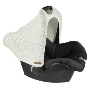 Canopy Maxi-Cosi 0+ Classic woolwhite