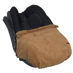 Car seat blanket Sense caramel