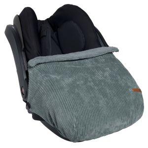 Car seat blanket Sense sea green