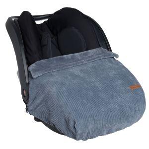 Car seat blanket Sense vintage blue