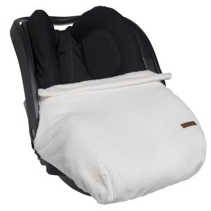 Car seat blanket Sense white