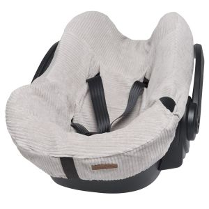 Car seat cover Sense pebble grey