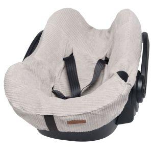 Car seat cover Sense pebble grey