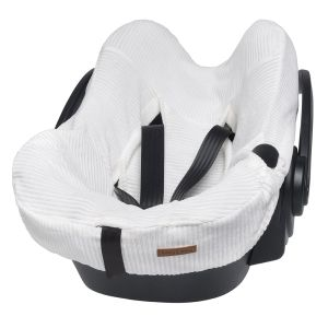 Car seat cover Sense white