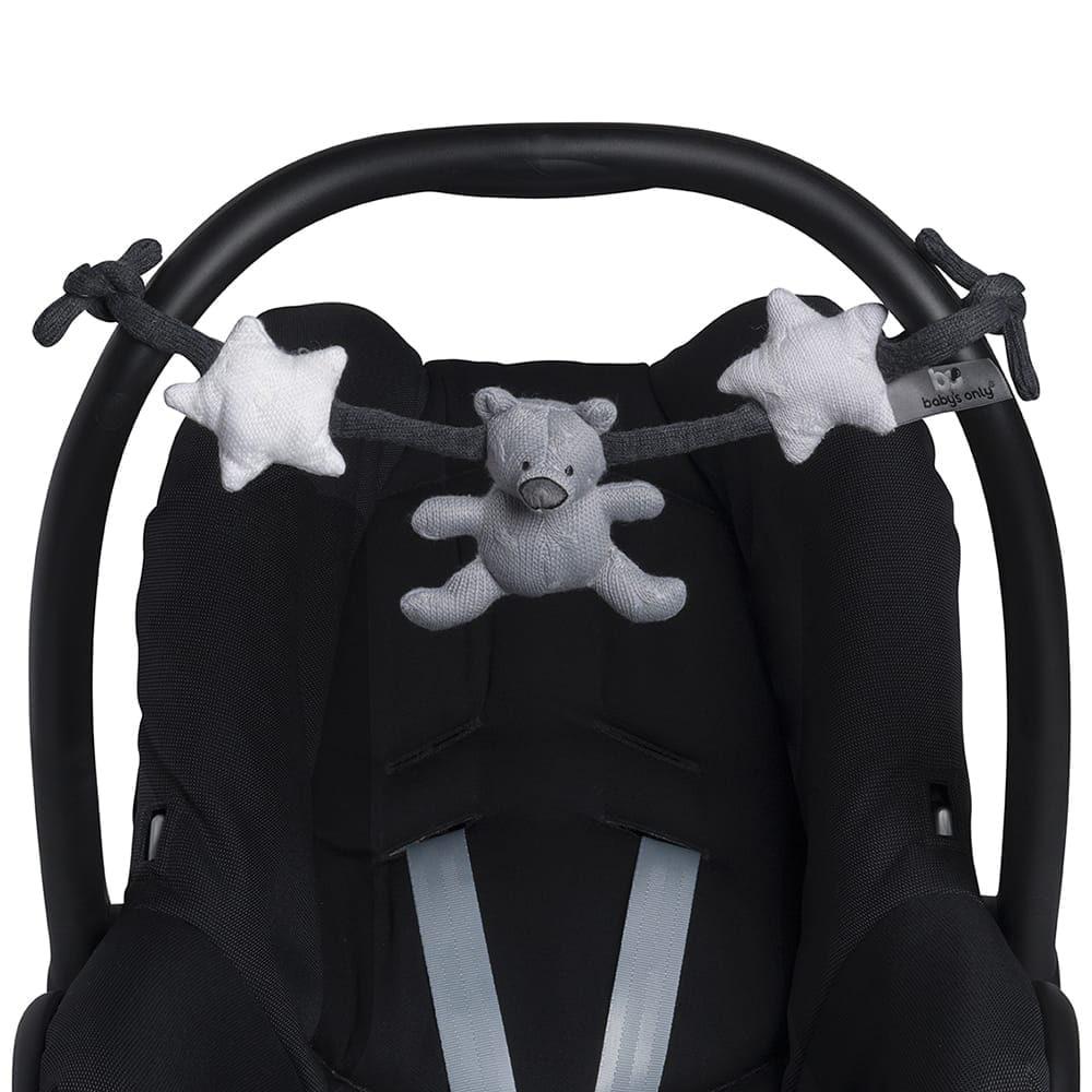car seat toy greyanthracitewhite