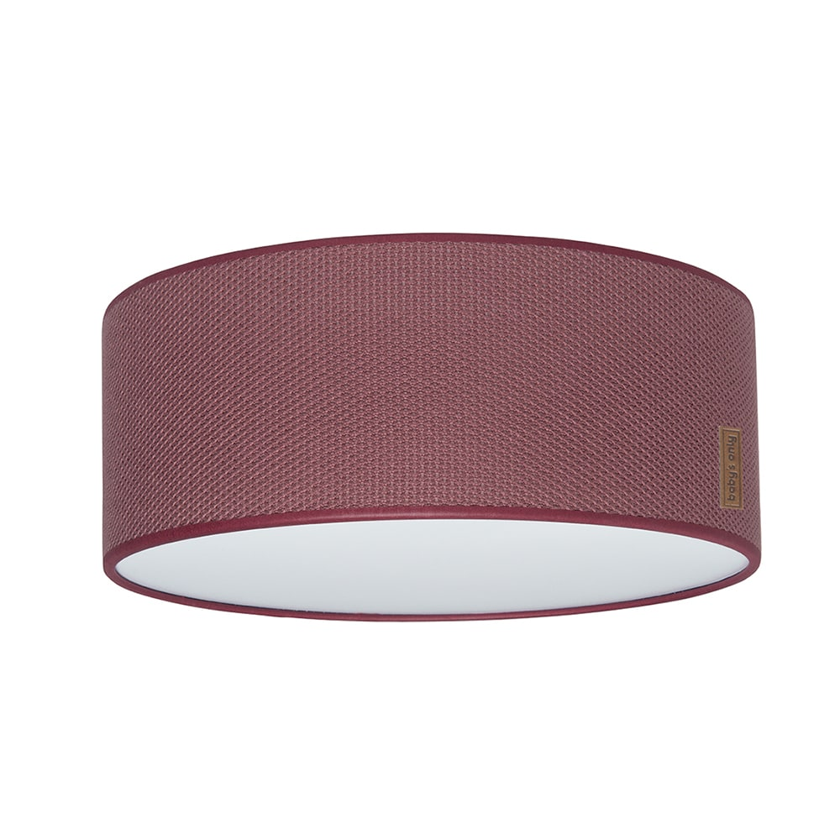 ceiling lamp classic stone red 35 cm