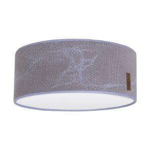 Ceiling lamp Marble cool grey/lilac - Ø35 cm