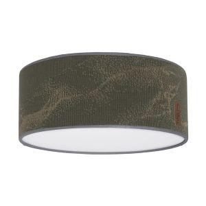 Ceiling lamp Marble khaki/olive - Ø35 cm