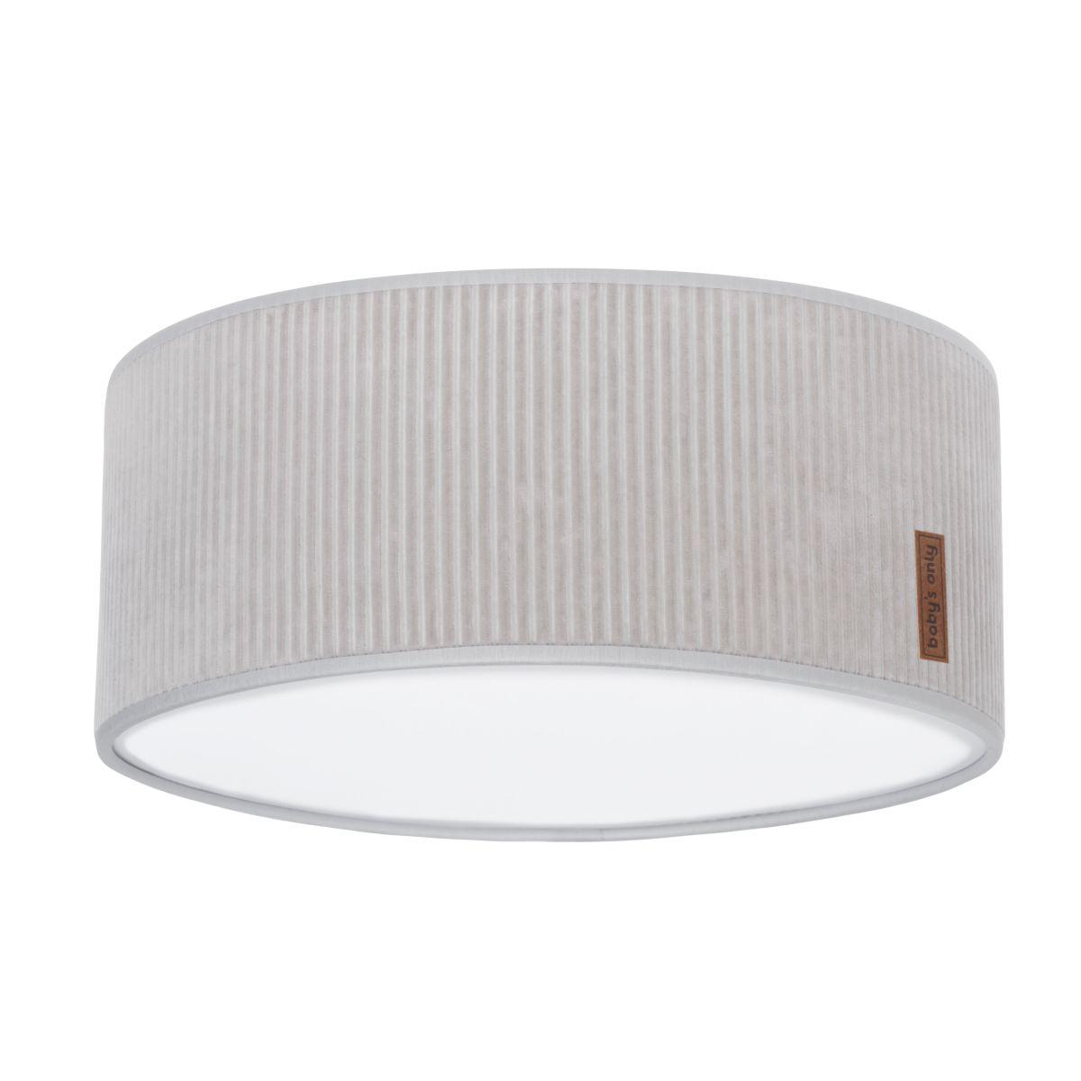 ceiling lamp sense pebble grey 35 cm