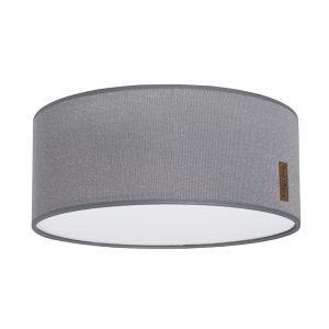 Ceiling lamp Sparkle silver-grey melee - Ø35 cm