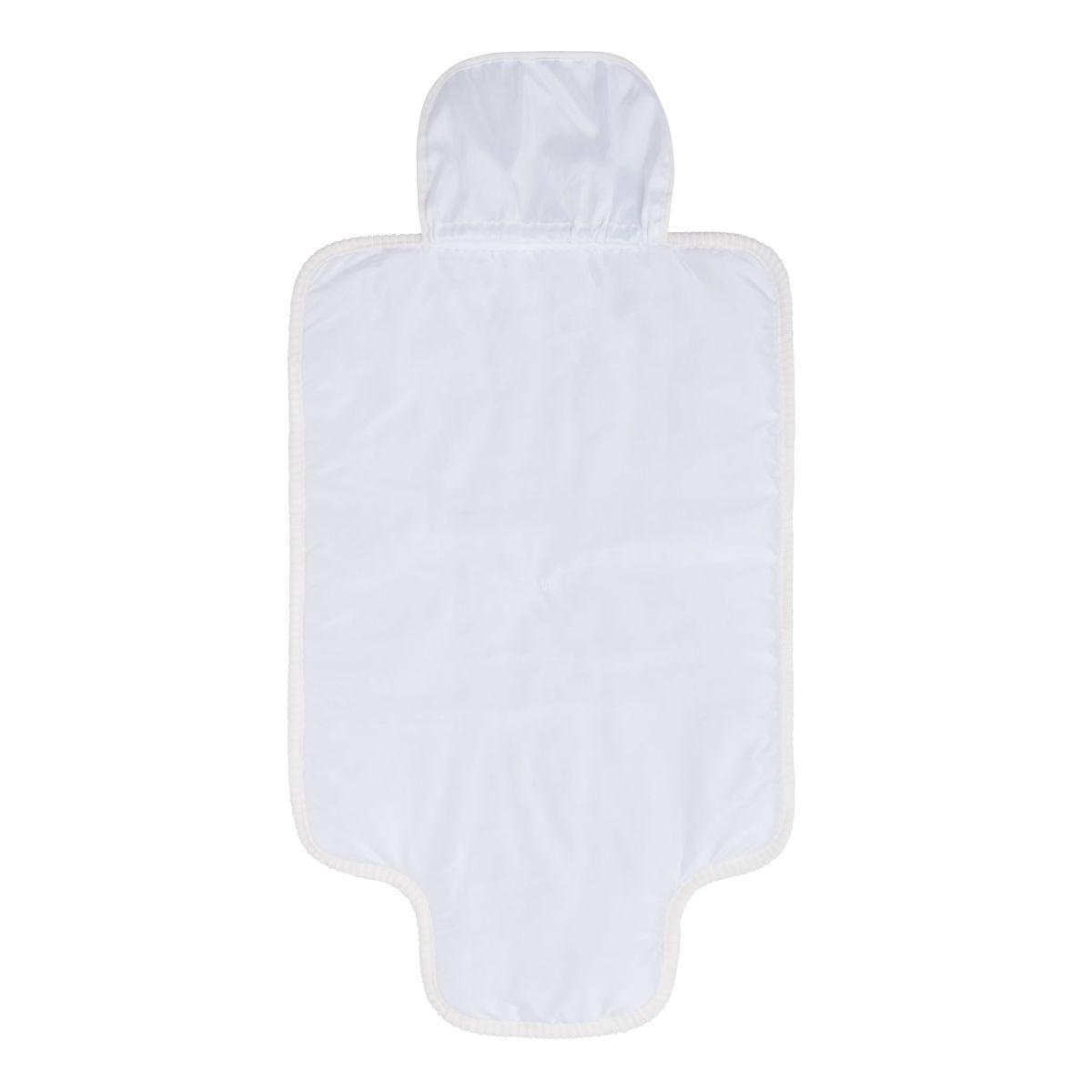 changing mat sense white