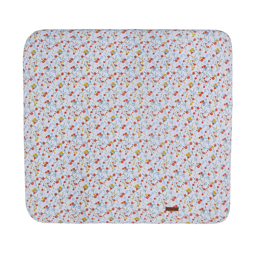 changing pad cover bloom 75x85