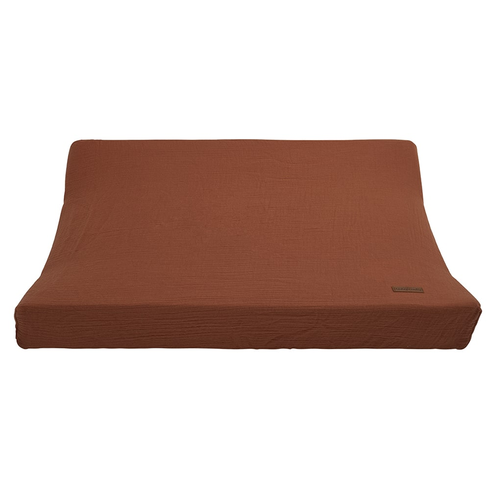 changing pad cover breeze rust 45x70