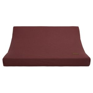 Changing pad cover Breeze stone red - 45x70