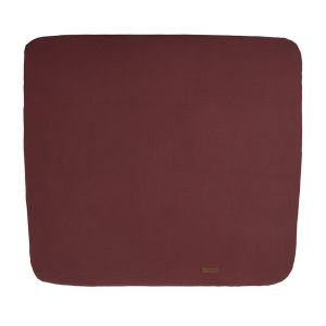 Changing pad cover Breeze stone red - 75x85
