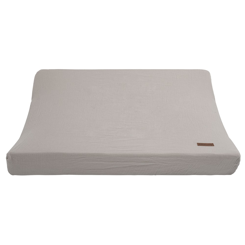 changing pad cover breeze urban taupe 45x70