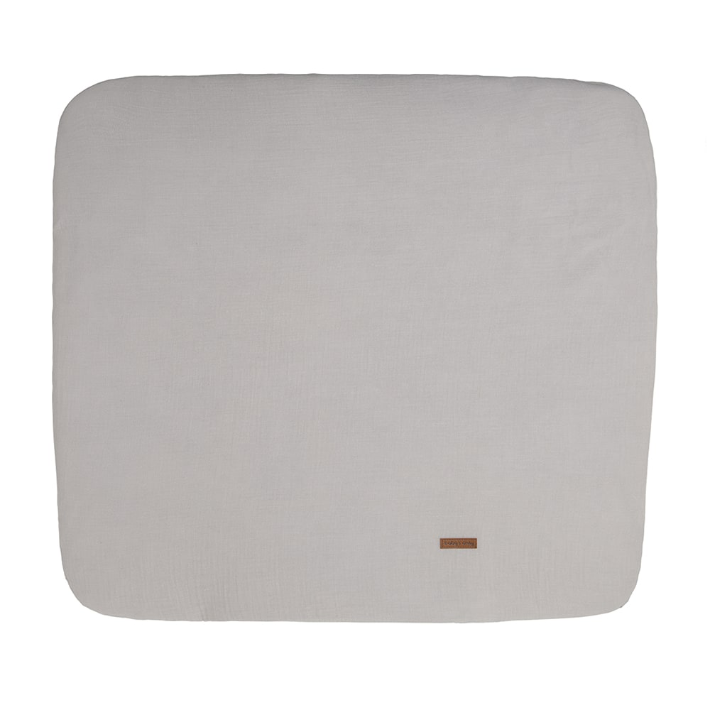 changing pad cover breeze urban taupe 75x85