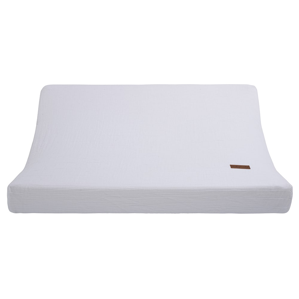 changing pad cover breeze white 45x70