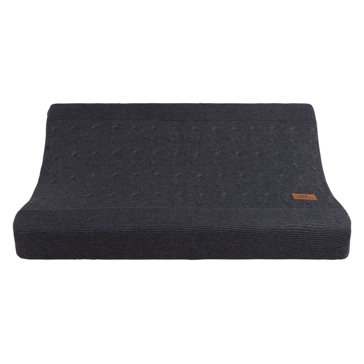 changing pad cover cable anthracite 45x70