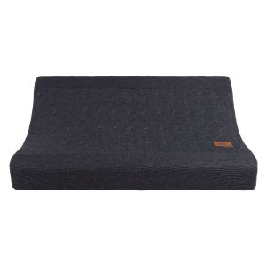 Changing pad cover Cable anthracite - 45x70