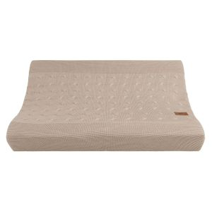 Changing pad cover Cable beige - 45x70