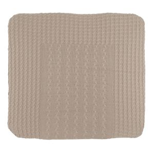 Changing pad cover Cable beige - 75x85